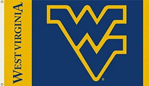 Bsi Products 95012 3 Ft. X 5 Ft. Flag W/Grommets - West Virginia Mountaineers