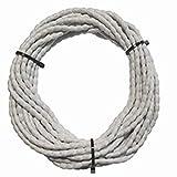 DewTec Bleiband - 12m - 50g/m, Weiß - Bleikordel, Bleischnur, Beschwerungsband, Gardinenbeschwerung