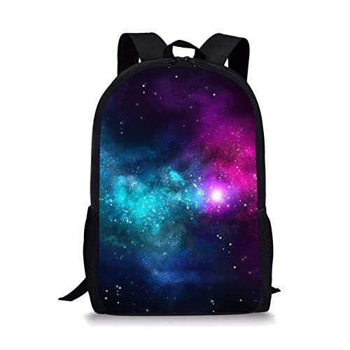 POLERO Galaxy Universum gedruckte große Coole Schule Tasche Nette Kinder Durable Personalisierte Rucksack Bookbags (Große Schule Bookbags)