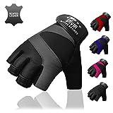 Bavia Fitness Handschuhe aus Echtleder
