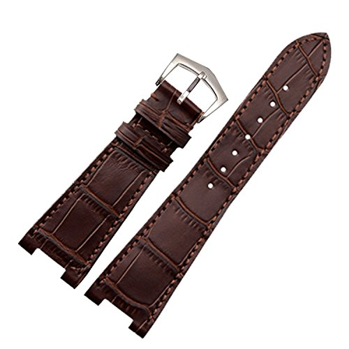 new-25mm-brown-genuine-leather-watch-strap-band-buckle-suitable-pp-patek-philippe-5712r-5711g-replac