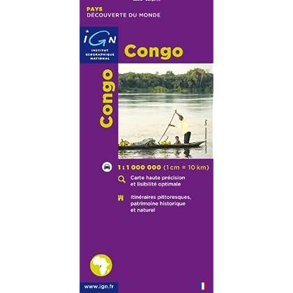 Carte routière : Congo