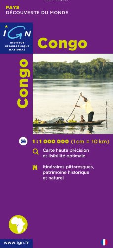 Congo par IGN Institut Géographique National