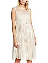 Lindy Bop Damen Kleid Aphrodite Champagne