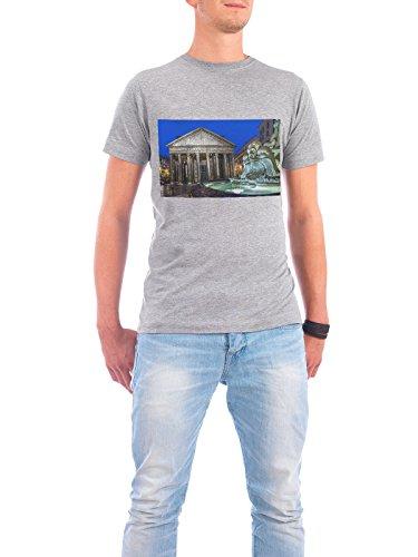 """Design T-Shirt Männer Continental Cotton """"Pantheon, Rome, Italy"""" - stylisches Shirt Städte / Rom von Domingo Leiva Nicolás Grau"""