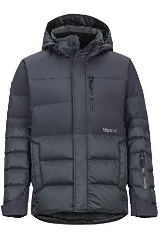 Marmot Shadow Jacket, Piumino da Neve, Densità Dell'imbottitura 700, Abbigliamento da Sci E Snowboard, Antivento, Impermeabile, Traspirante Uomo, Black, M