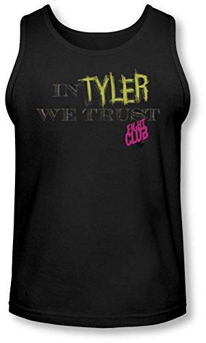 Fight Club - - Hommes à Tyler We Trust Débardeur, Large, Black