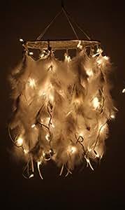 Daedal dream catchers Daedal dream catcher- White color with lights