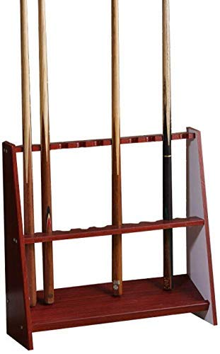 Tqjz Dx Traditionelle Massivholz Freistehende Queuen Racks, Vertikal-Stand Cue-Halter, Billiard Bar Lagerung Ständer Für Billard-Zimmer, 3 dauerhaft