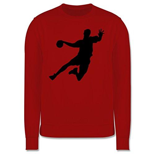 Handball - Handball - Herren Premium Pullover Rot