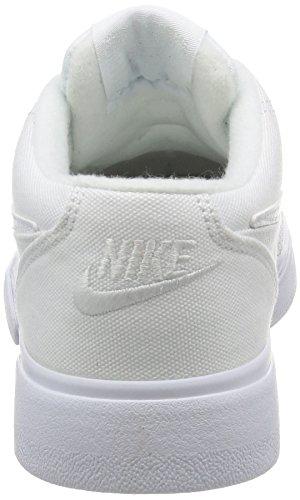 Nike Mädchen Wmns Gts '16 Txt Tennisschuhe Blanco (Blanco (white/white-white))