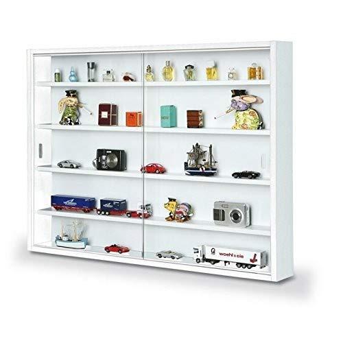 41oVtXOp4oL - Easy Home  Simply A20 -  Vitrina de  madera MDF y vidrio, Blanco