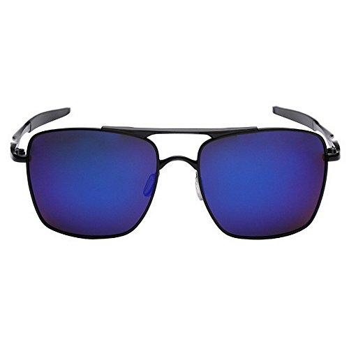Aclth Retro Gafas de Sol Que conducen de los Hombres de la Personalidad Gafas de Sol polarizadas Metalizadas de la protección Ultravioleta del Regalo del día del Padre Gafas de esquí de Golf