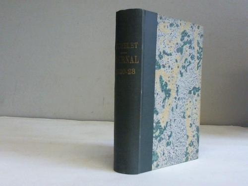 Mon journal 1820 - 1823