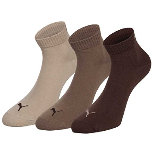 Puma Socken Quarter 3P 717-chocolate/walnut/safari-3