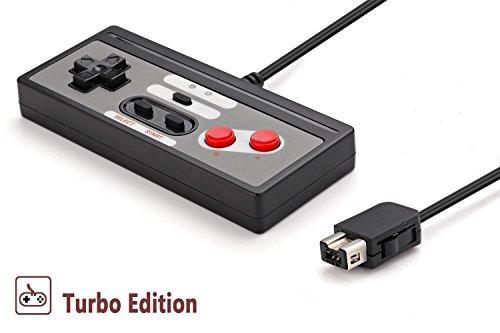 Jelly Comb Mando para la Nintendo NES Classic Edition – Controlador con 3 m Cable para la Nintendo NES Classic Edition (Nueva Versión Mini de 2016) – RETRO