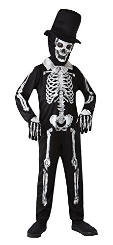 Imagen de esqueleto hueso zombie  halloween costume  niños disfraz  medium  122 a 134cm