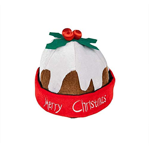 Christmas Pudding Hat for Christmas Fancy Dress Accessory
