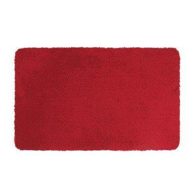 Dyckhoff Badteppich bordeaux - rot rund 100 cm Durchmessr
