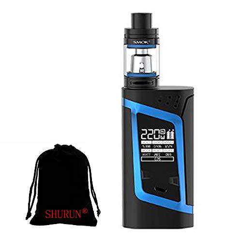 Original SMOK Alien 225W kit sin nicotina, bolsa de almacenamiento SHURUN incluida (Black Blue)
