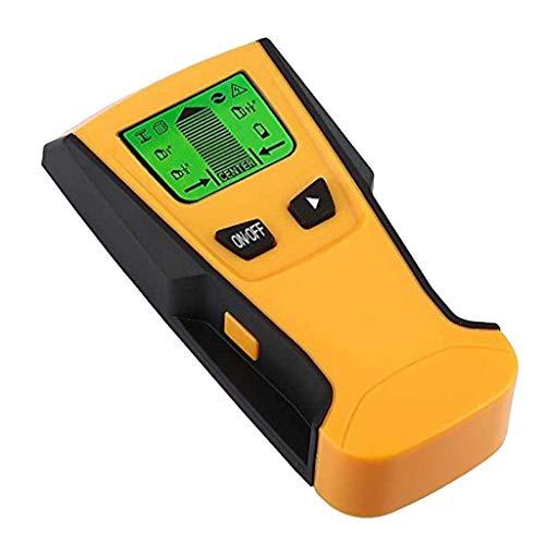 D DOLITY 3 in 1 Detektor Stud Center Finder Wandscanner Metalldetektor mit Warnanzeigen & Auto-Kalibrierung & LCD Display, für Metall, Holz und AC Draht usw.