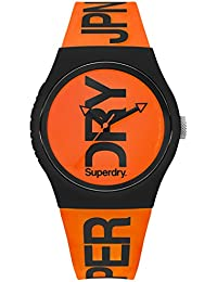 Superdry Men's Analogue Quartz Watch with Silicone Strap SYG189OB