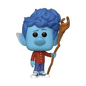 Funko POP 45584 Disney: Onward-Ian w/Staff Collectible Toy, Multicolour