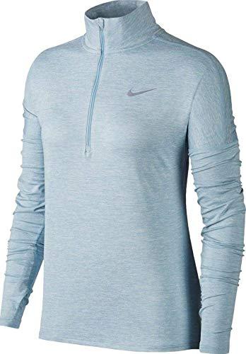Nike Herren Dry Element Half Zip Langarm-Oberteil, Ocean Bliss/Heather, S -