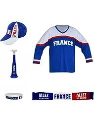 SPORTTEAM Fvsada-FR004 Ensemble de Sport Mixte Adulte, Bleu/Blanc, FR : 36 x 24.5 x 11 cm (Taille Fabricant : 36 x 24.5 x 11 cm)