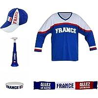 Deportes Deportes de Equipo Fan Set FR 004Taberna Paquete de Hockey Sobre Hielo, Color Azul/Blanco, 36x 24,5x 11cm