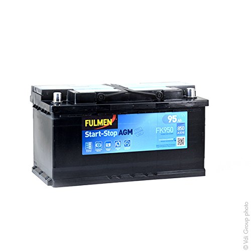 Fulmen - Batteria Auto Start and Stop FK950 12V 95Ah 850A