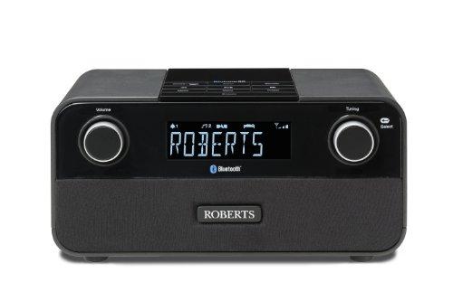 Roberts Radio Radiowecker Bluetune 50 schwarz