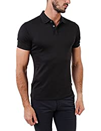 Armani Jeans Men's Dark Navy Polo Shirt