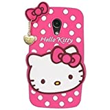 Rapid Zone Cute Hello Kitty Back Cover For Motorola Moto G2 - Pink