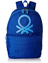 United Colors of Benetton 15 Ltrs Blue Casual Backpack (17A6BKPK0L19I)