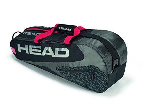 Head Elite 6R Combi-Bolsa Raquetas Tenis, Color