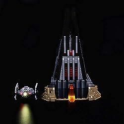 LIGHTAILING Jeu De Lumières pour (Star Wars Le château de Dark Vador) Modèle en Blocs De Construction - Kit De Lumière A LED Compatible avec Lego 75251(Ne Figurant Pas sur Le Modèle)