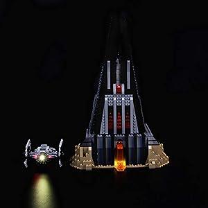 LIGHTAILING Set di Luci per (Star Wars Castello di Darth Vader) Modello da Costruire - Kit Luce LED Compatibile con Lego… 0716852279715 LEGO
