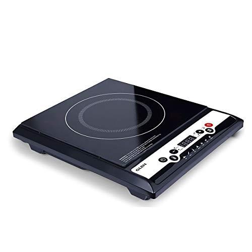 Glen Induction Cooktop Cook Top, 1400 W with Digital Display, Black