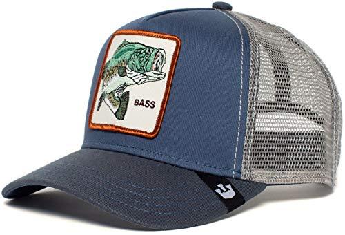 Goorin Bros. Trucker Cap Big BASS Blau, Size:ONE Size