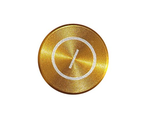 iPhone-Zubehör, Home-Tasten-Aufkleber aus farbigem Metall, für iPhone 6,5s, 5c, 5,4,3, iPhone, iPad, iPod (Home Sticker Für 4 Ipod)