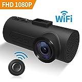 C1 Dashcam HaloCam Auto Kamera 1080p IMX323 Sony Sensor CMOS G-Sensor WLAN Kamera mit 165 Grad Weitwinkelobjektiv super klare Sicht Loop Recording