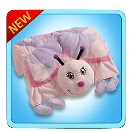 The Original My Pillow Pets Butterfly Blanket (Pink) by My Pillow Pets (English Manual) (My Butterfly Pet)