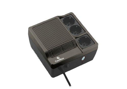 CoolBox Sai Scudo 600 Alimentation d'énergie Non interruptible 600 VA 3 Sortie(s) CA -...