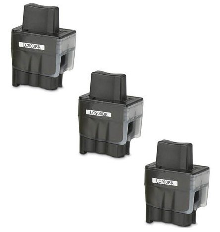 Prestige Cartridge LC900 / LC950 3-er Pack Druckerpatronen für Brother DCP-110C, DCP-115C, DCP-117C, DCP-120C, DCP-310C, DCP-310CN, DCP-315C, DCP-315CN, DCP-340CN, DCP-340CW, Fax-1835, Fax-1835C, Fax-1840C, Fax-1940, Fax-1940C, Fax-2240, Fax-2240C, Fax-310, MFC-210C, MFC-215C, MFC-3100, MFC-3240C, MFC-3240CN, MFC-3340CN, MFC-3342CN, MFC-410CN, MFC-420CN, MFC-425CN, MFC-430CN, MFC-5440CN, MFC-5540CN, MFC-5840CN, MFC-610CN, MFC-620CN, MFC-640CN, MFC-640CW, MFC-820CW, schwarz