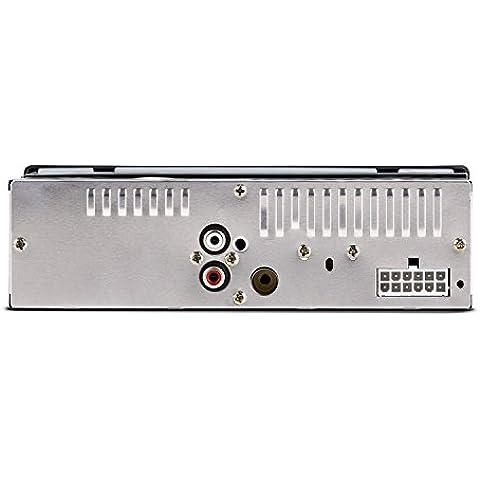 oneConcept MD-185 Radio para coche MP3 USB SD FM AUX negro