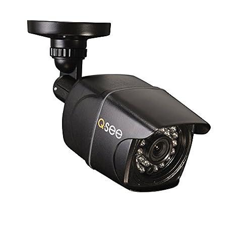 Q-See QD9701B 960H/900TVL Analog CCD Bullet Camera with 50 ft Night Vision - Black