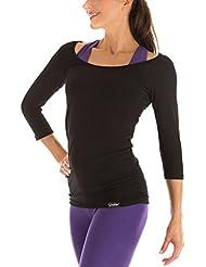 Winshape Damen Fitness Yoga Pilates 3/4-Arm Shirt WS4