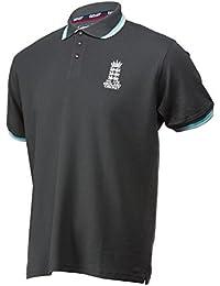 Brandco England Cricket ECB - Polo de piqué para Hombre 032f5b0e2e