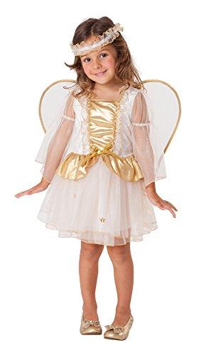 Engelskostüm Kleines Engelchen mit Flügel 2-4 Jahre - Kinder (Kleinkind Kostüme Fancy Dress)